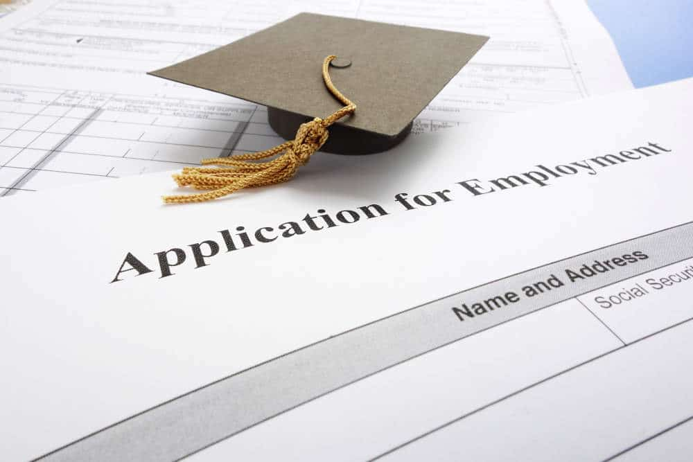 Application form for new graduate